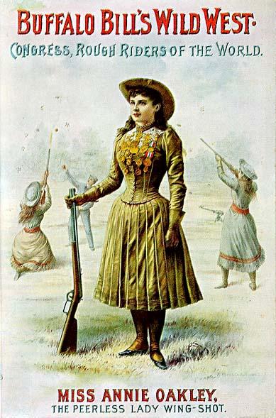 Annie Oakley_Buffalo Bill poster