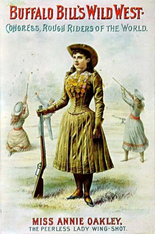Annie Oakley_Buffalo Bill poster