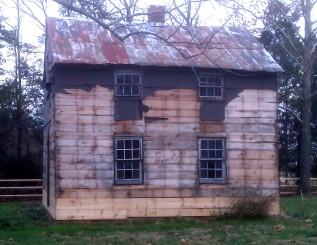 A schoolhouse built in Virginia in 1870.