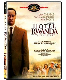 Hotel Rwanda DVD