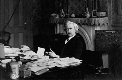 """In an 1878 letter to his brother Orion Clemens, Mark Twain wrote, """"You need not expect to get your book right the first time. Go to work and revamp or rewrite it."""""""