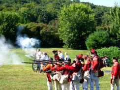 fort-troops firing