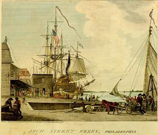 Arch_Street_Ferry Philadelphia 1793