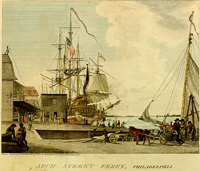 A yellow fever outbreak in Philadelphia in 1793 killed 5,000 people, about 10 percent of the city's population. Among the thousands who fled was an infected Alexander Hamilton.